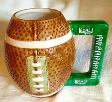Large Football Mug, Hand Painted. Bet Your Friends Don't Have This One!