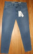 $198 AG ADRIANO GOLDSCHMIED CONTOUR 360 THE LEGGIN SUPER SKINNY ANKLE JEANS 29