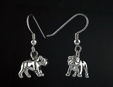 Boucles d'Oreilles Chien BULLDOG ANGLAIS - Earrings ENGLISH BULLDOG