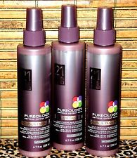 Pureology Colour Fanatic Set of 3 Leave In Condition 21 Benefits Antifade 6.7 oz