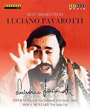 Best Wishes From Luciano Pavarotti DVD REGION 2 - UK