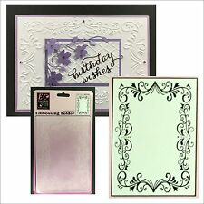 ELEGANT FRAME embossing folder ECSTASY CRAFTS embossing folders ECF1001 wedding