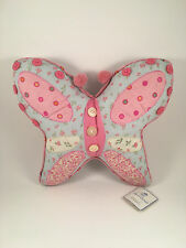 """C & F April Cornell Butterfly Deco Pillow 16"""" x 13"""" NEW"""