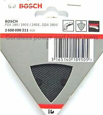 Bosch Delta Sanding Backing Pad Plate for PDA 180 240 E GDA 280 E 2608000211