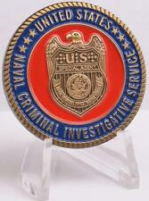 NCIS Navy Challenge Coin Middle East Office Naval Criminal Investigative Service