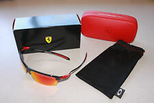 OAKLEY FERRARI CARBON BLADE W/ POLARIZED RUBY IRIDIUM LENS SUNGLASSES BNIB