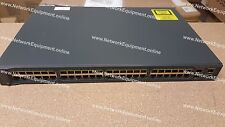 Cisco WS-C3560V2-48PS-S PoE switch 3560V2-48PS-S 3560V2-48PS-E WS-C3560V2-48PS-E