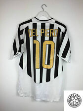 Juventus DEL PIERO #10 03/04 Home Football Shirt (L) Soccer Jersey Nike