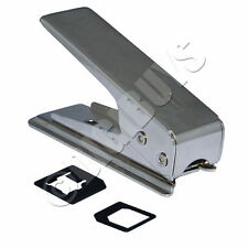Nano Sim Card Cutter for iPhone 5/5S iPad Mini Free Adapters Micro Sim UK