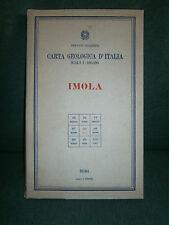 carta geologica d' Italia - IMOLA -