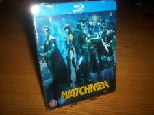 WATCHMEN Blu-ray steelbook rare OOP Play.com region free (worldwide shipping)