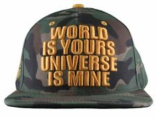 DGK Dirty Ghetto Kids World is Yours Universe is Mine Camo Snapback Baseball Hat