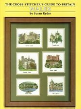 Wales - The Cross Stitcher's Guide to Britain - Heritage Stitchcraft Charts New