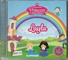 LAYLA - THE BEST EVER PRINCESS SONGS & STORIES PERSONALISED CHILDREN'S CD