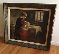 KAROLY KRUSNYAK Hungarian 1889-1960 Original Antique Signed Oil Painting LISTED