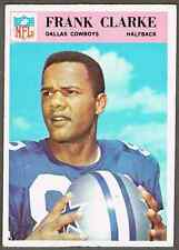 1966 Philadelphia Football Card #55 Frank Clarke -  50-years old, see pics!