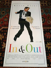 In & Out locandina poster Kevin Kline Joan Cusack Tom Selleck Dillon Sposo Gay