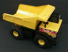 "TONKA MIGHTY 768 DUMP TRUCK! 17"" LONG YELLOW 1999 Metal Vintage"