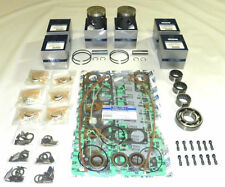 WSM Outboard Mercury 150 Hp 2.0L 6 Cyl. Power Head Rebuild Kit -7442T36, 7441A3,