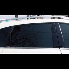 Black Door B Pillar Mirror Plate Molding For Chevrolet Captiva 2008~2015