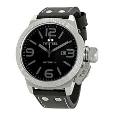 TW Steel Canteen Black Dial 50mm Mens Watch TWA201