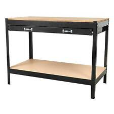 Sealey Garage/Workshop Worktop Workbench - 1.2mtr - With Drawer - AP12160