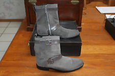 COLE HAAN AIR SUTTON GREY SUEDE STRAP BOOT 10/10.5 NIKE AIR BRAND NEW