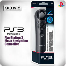 PlayStation 3: PS3 Move Navigation Controller (New & Sealed)
