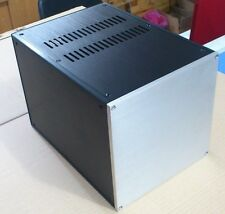 Full Aluminum Enclosure AMP case power amplifier box chassis can customized DIY
