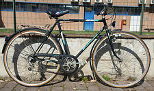 Bici city bike vintage Bianchi Spluga 5 V acciaio steel bike fahrrad made in Ita