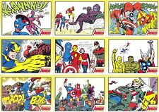 2006 Complete Avengers COMPLETE 81-CARD BASE SET Rittenhouse Archives