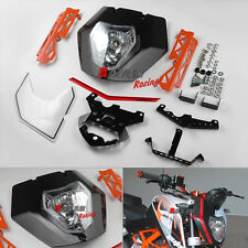 Headlight Cover Mask Lights Assembly sticker Bracket For KTM 125 200 390 Duke