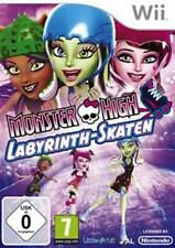 Nintendo Wii Monster High laberinto patinar impecable