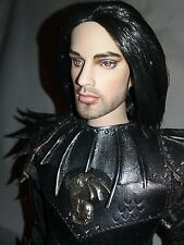 OOAK DRAGON LEATHER SUIT OF ARMOR DALILA REPAINT TONNER DOLL JEREMY VOSS KNIGHT