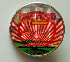 PINK FLOYD SUNRISE VINTAGE METAL PIN BADGE FROM THE 1980's MADE IN ENGLAND