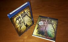 ASH VS EVIL DEAD 2-disc Blu-ray US import region abc free rare slipcover sleeve