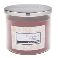 Rosemoore Home Fragrance 3587 Pomegranate Scented Medium Glass Candle
