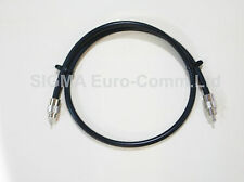 RG-213 RF 0.5m long Patch Lead for CB or Ham Radio PL-259 pl259 213 patch lead