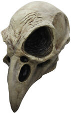 ADULT CROW BIRD SKULL MEDIEVAL BLACK DEATH TV FILM SCARY LATEX MASK HALLOWEEN