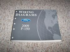 2009 Ford F150 Electrical Wiring Diagram Manual XL STX XLT FX4 Lariat 4.6L 5.4L