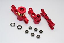 TRAXXAS X-MAXX 7076 GPM RED ALUMINUM STEERING ASSEMBLY WITH BEARINGS TXM048