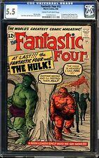 Fantastic Four #12 CGC 5.5