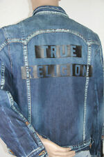 New True Religion Denim Jeans Jacket XL XLARGE