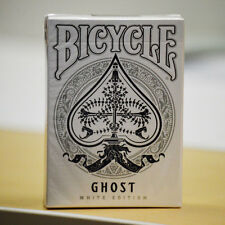 Bicycle Ghost White Edition Playing Cards Deck Brand New Sealed
