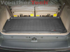 WeatherTech® Cargo Liner Trunk Mat - Toyota Sequoia - Small - 2001-2007 - Black