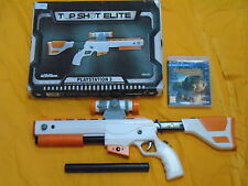 Ps3 Cabelas Dangerous Hunts 2011 + tiro superior Elite Rifle Pistola En Caja PAL