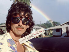 GEORGE HARRISON in Brazil 1979 20x15cm candid photo rare beatles