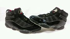 Nike Air Jordan 6 Rings HOF Black/Red/White/Gold Men's Shoes Sz 13 371497-031