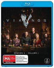 Vikings: Season 4 - Volume 1 = NEW Blu-Ray Region B