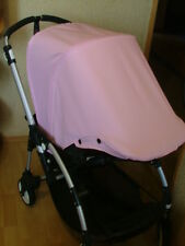 Bugaboo Bee Soft Pink Custom Hood/Sun Canopy Waterproof 2007-09